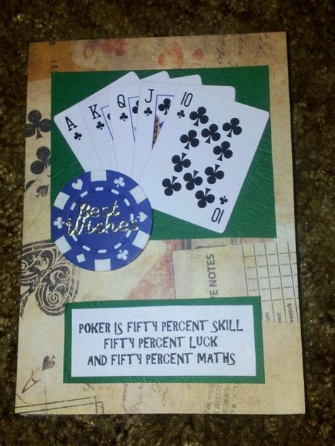 birthday card   poker player parties poker game night pinterest poker birthday