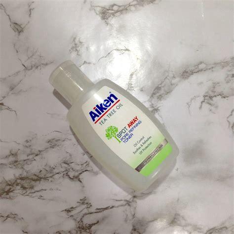 Toner Aiken aiken tea tree spot away pore refining toner review