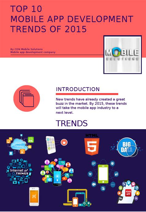 application design trends 2015 top 10 mobile app development trends in 2015 cdn mobile