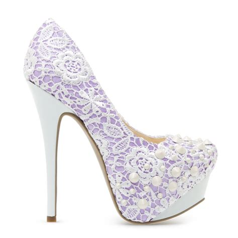 popular high heels crocheted high heels from shoedazzle are popular and cheap