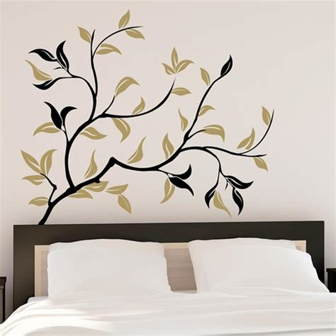 gold wall stickers gold ramage wall stickers wall decal