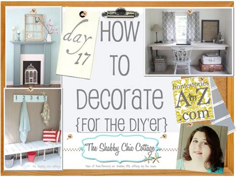 Segiempat Shabby Chic Seri 3 By how to decorate series day 17 using objects as by