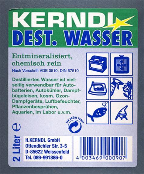 Destilliertes Wasser Kaufen 513 by Destilliertes Wasser Kaufen Klax Destilliertes Wasser 5l
