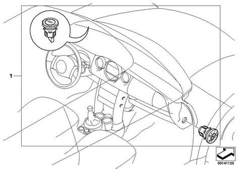 1er Bmw 2006 Airbag Ausschalten by Schalter Deaktivierung Beifahrerairbag 1er 3er 5er 6er 7er