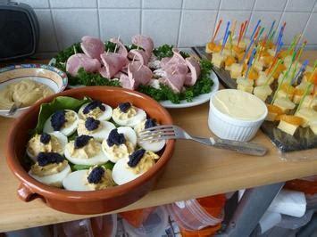 Kaltes Buffet Anrichten by Kaltes Buffet Rezepte Kochbar De