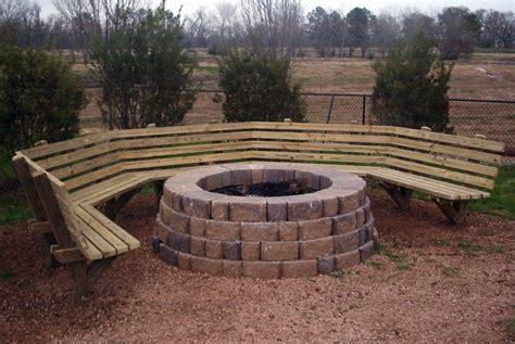 fire pit bench seating firepit bench google search outdoor living pinterest