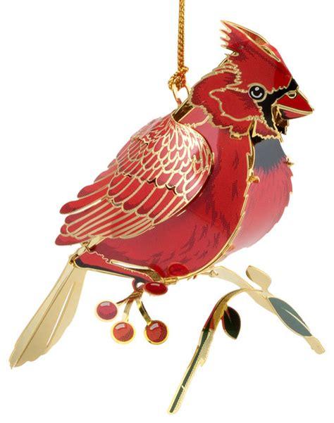 3d ornaments 3d cardinal ornament traditional ornaments
