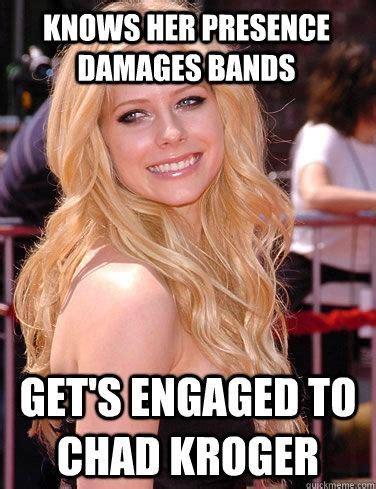 Avril Lavigne Meme - chad kroeger funny meme memes