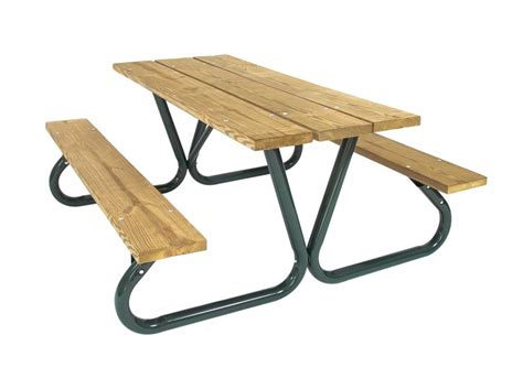 p766 heavy duty southern yellow pine picnic table
