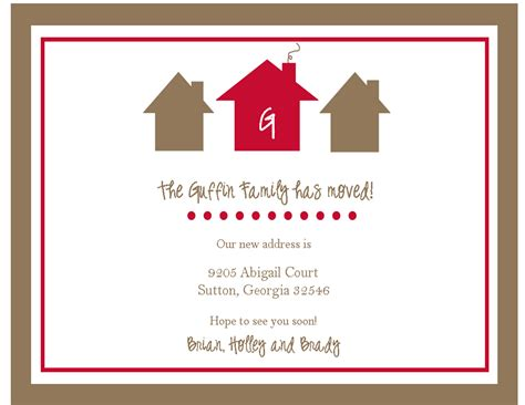 house beautiful change of address gt new address cards sweet paperie