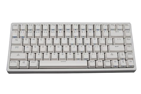 Keyboard Mechanical mk mk84 all white backlit tkl mechanical keyboard greetech brown