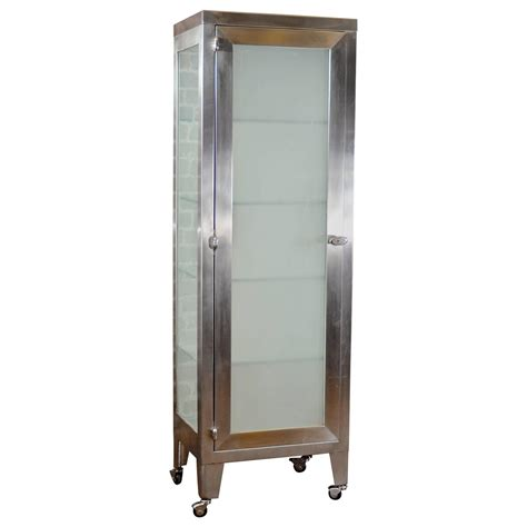 stainless steel cabinet at 1stdibs