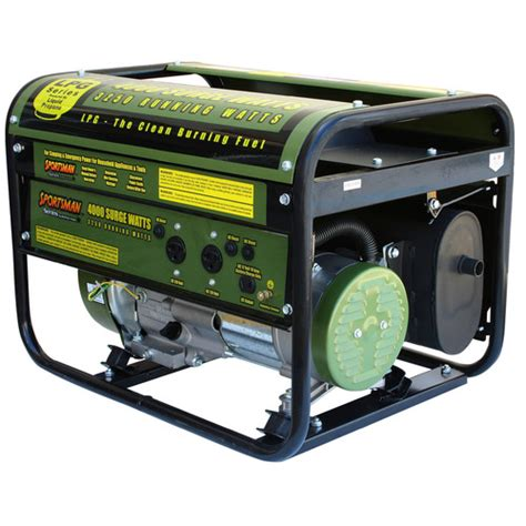 sportsman 4 000 watt liquid propane generator with recoil