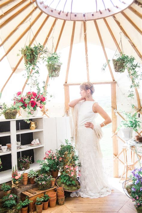 Wedding Yurts by A Free Spirited Styled Shoot From Wedding