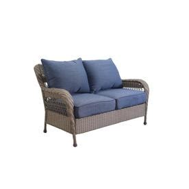 allen and roth park loveseat patio sofas loveseats at lowes