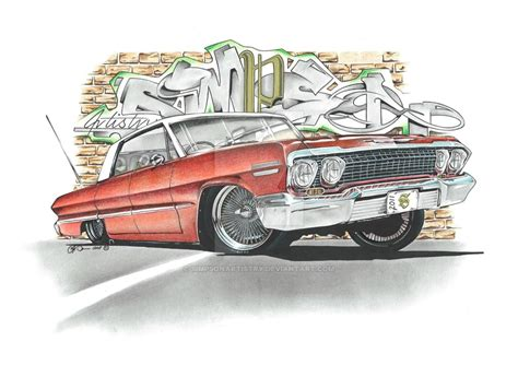 chevy impala by simpsonartistry on deviantart