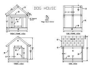 dimensions for a dog house build a dog house with free plans