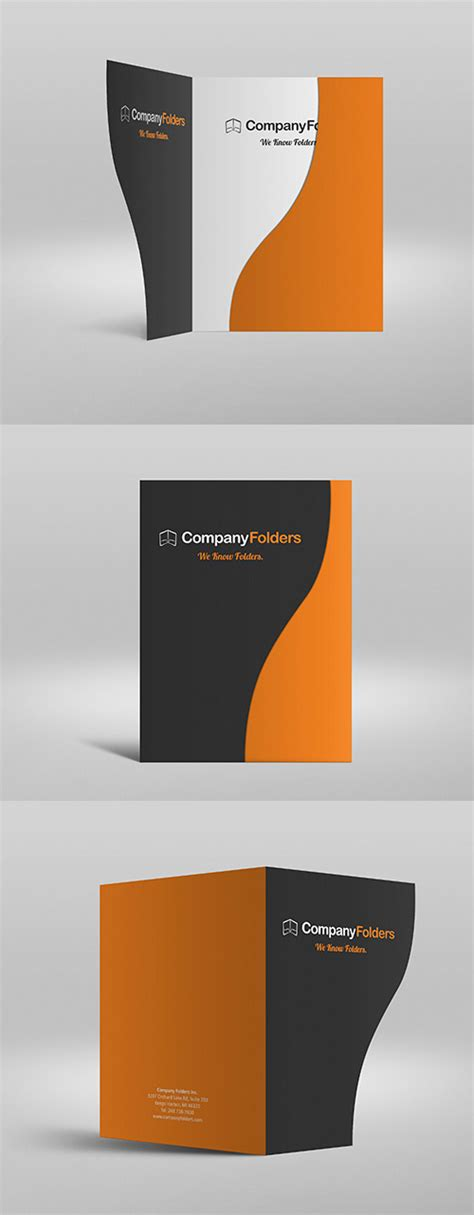 Fresh Free Photoshop Psd Mockups For Designers 27 Mockups Presentation Folder Psd