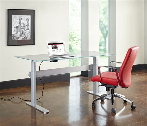 Adjustable Height Desk With Drawersherpowerhustle Com