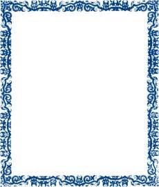 blue cool frame clip art clker vector online bed frames design plans bedroom