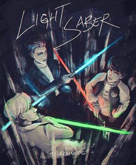 wallpaper exo lightsaber 95 best exo fanart images on pinterest fan art fanart