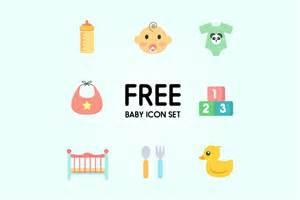 set of free baby icons responsive joomla and wordpress