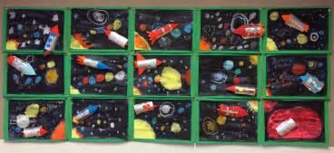 Raket Ebox 5 6 raket en zonnestelsel knutselen knutsel idee 235 n voor kinderen