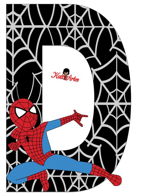 imagenes cumpleaños hombre araña homem aranha letras e n 250 meros letras hombre ara 241 a y