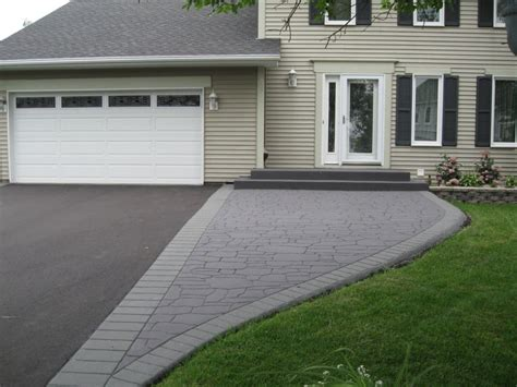 Home Design Estimate pictures driveway design residential asphalt and