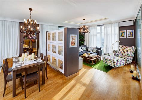 open floor plan apartment modern apartment interior design in kiev by studio id4u