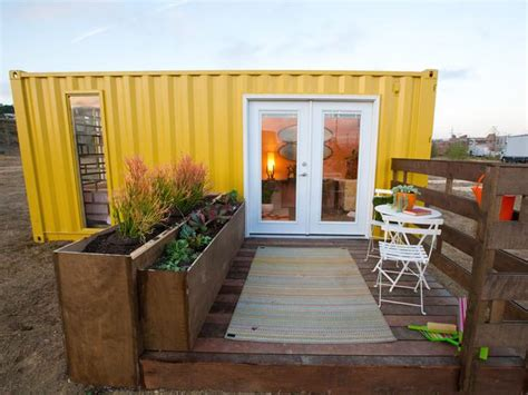 shipping container homes all hgtv show design