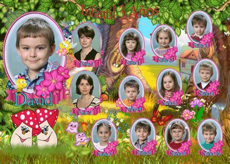 montajes y fotomontajes infantiles para ni os y bebes orla escolar para ni 241 os