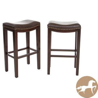 christopher knight bar stool christopher knight home avondale brown backless bar
