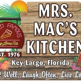 Mrs Mac Kitchen by Key Largo Florida Nightlife Restaurants Things To Do