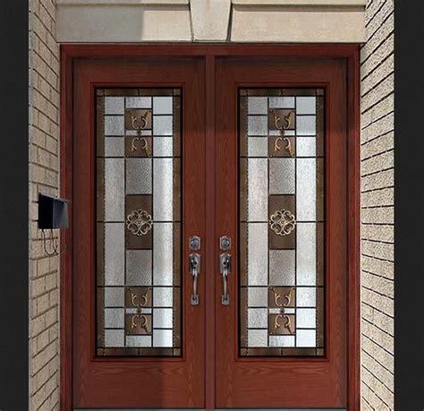 Wooden Glass Door Designs Door Designs With Glass And Wood Design Inspiration