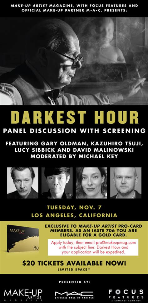 darkest hour darkest hour 2017 venkatarangan s blog get your tickets to darkest hour nov 7th screening