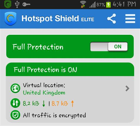 hotspot shield for android hotspot shield elite version android android
