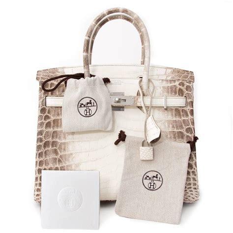 Mes Birkin Himalaya Mini hermes white matte niloticus himalayan crocodile birkin 30cm birkin handbags price