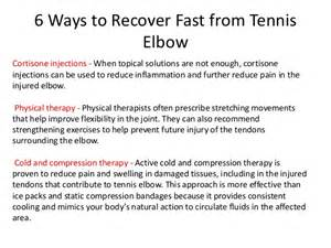 cryotherapy for tennis elbow