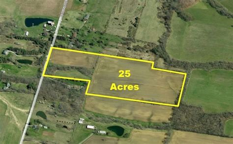 acre land 25 acres old winchester trail in caesarcreek township
