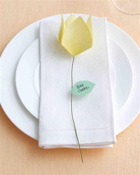 Origami Place Card - things for weddings martha stewart weddings