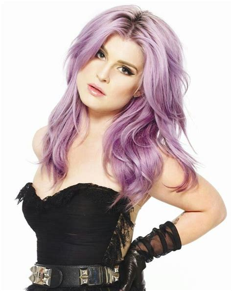 Kelly Osbourne Lavender Hair Color | 16 eye catching kelly osbourne hairstyles pretty designs