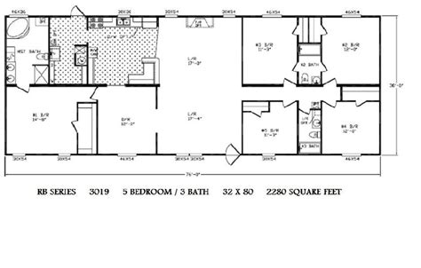 wide floor plans 5 bedroom 5 bedroom mobile home