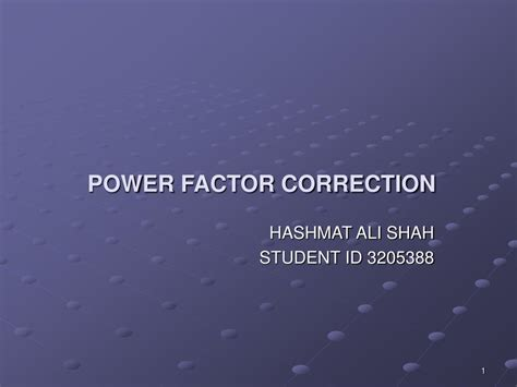 ppt power factor correction powerpoint presentation id 410981
