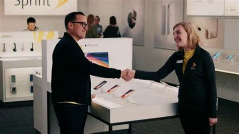sprint commercial actress auction sprint tv commercial meet the sprintern iphone x for