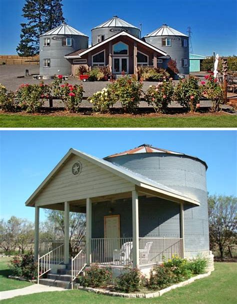 stunning silo houses grain silos turned into a home