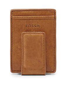 Fossil Ingram Tri Brown Wallet Ori wallets accessories belk