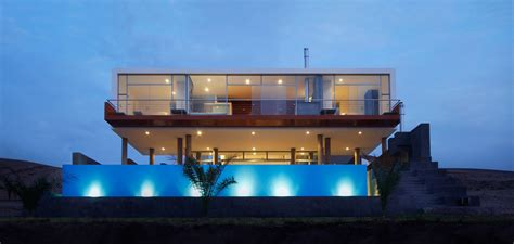modern beach homes this contemporary beach house near lima peru is a young