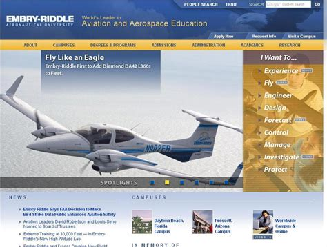 Dowling College Mba Aviation Management by Embry Riddle Aeronautical Daytona Fl