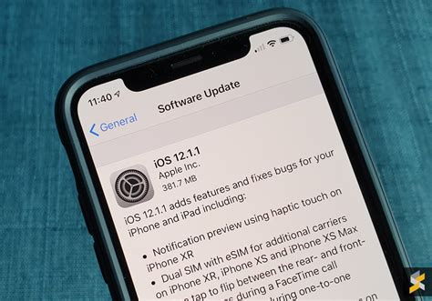 ios 12 1 1 adds notification preview for iphone xr soyacincau